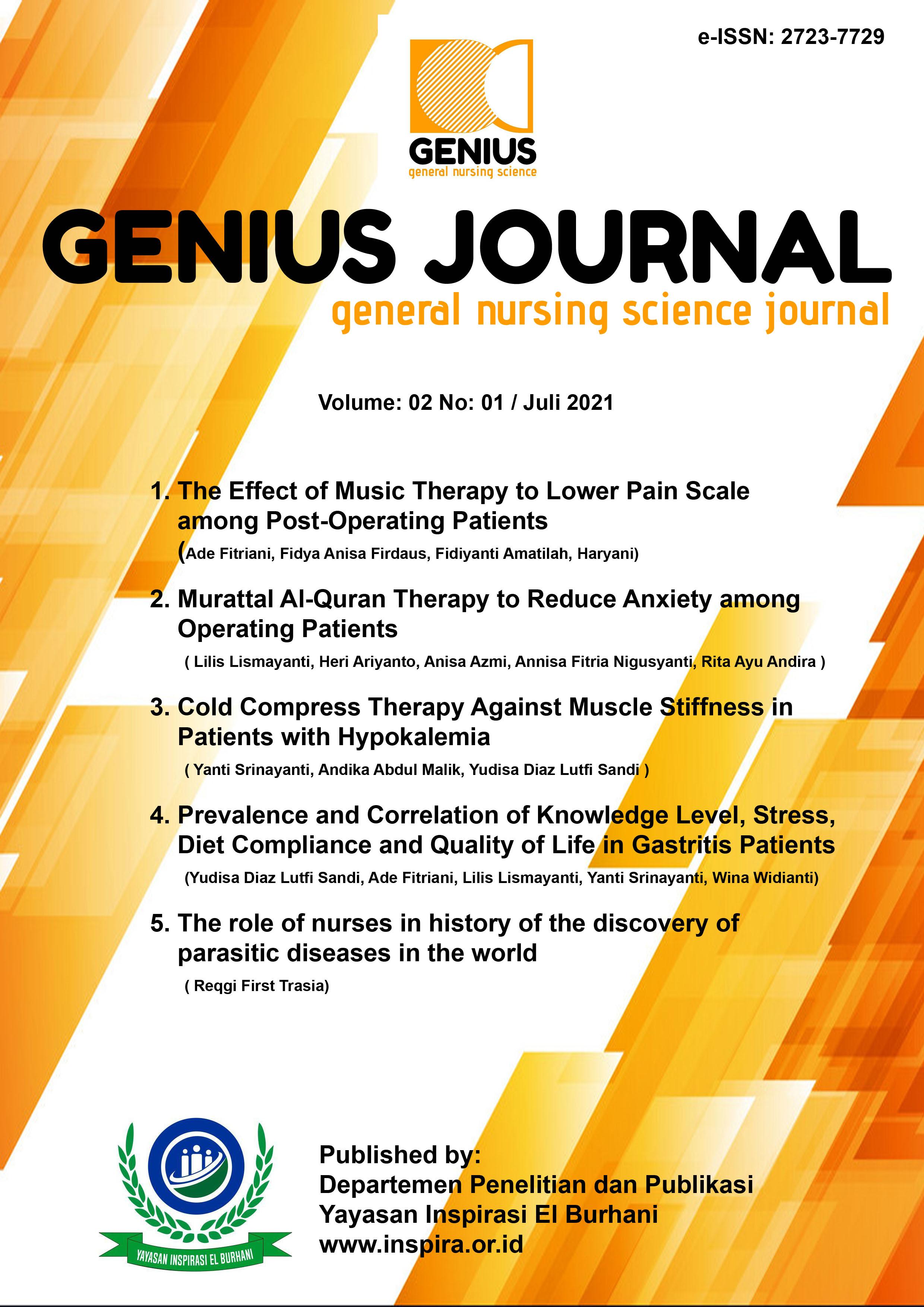 View Vol. 2 No. 1 (2021): GENIUS JOURNAL