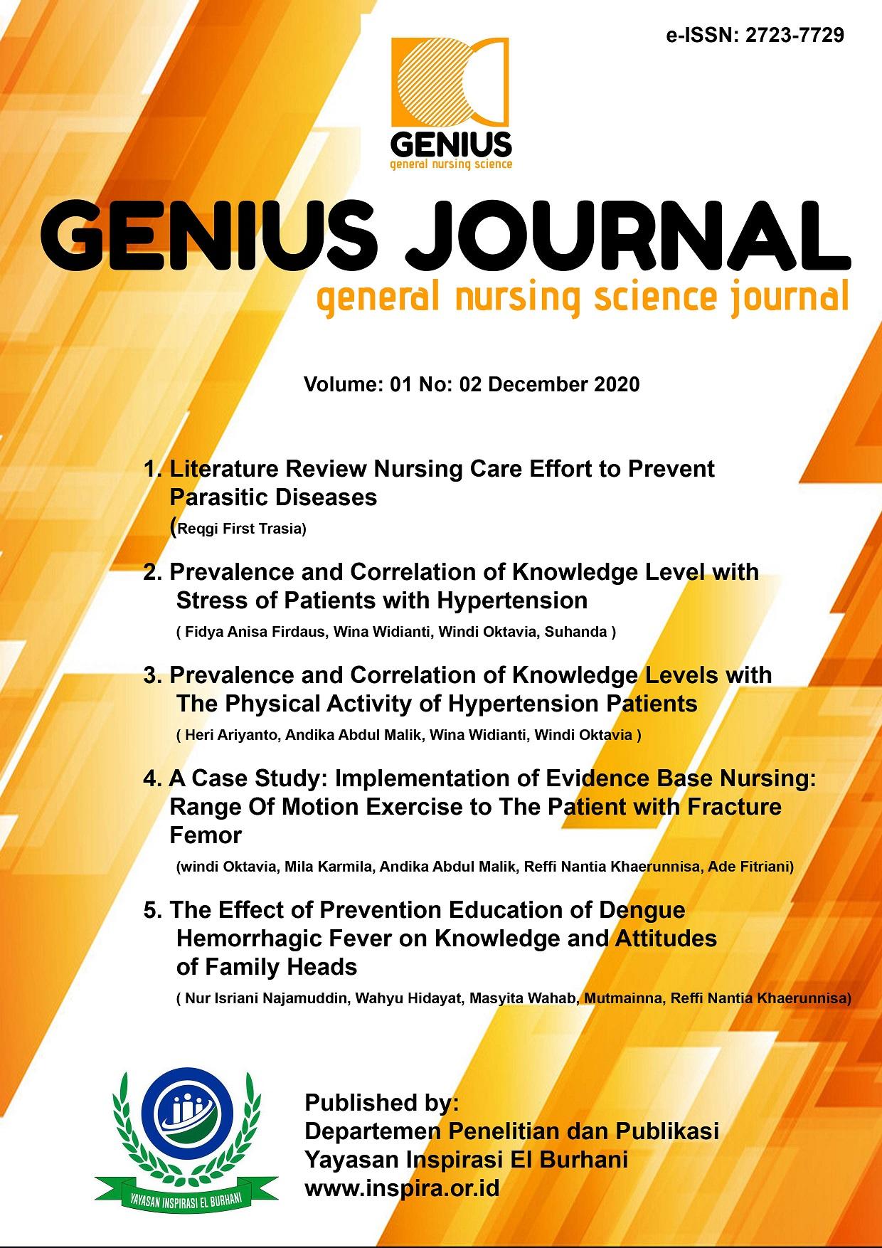 View Vol. 1 No. 2 (2020): GENIUS JOURNAL